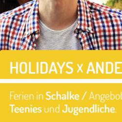 Ferien in Schalke – Angebote für Teenies und Jugendliche