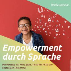 Empowerment durch Sprache